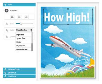 ebook cover text controls